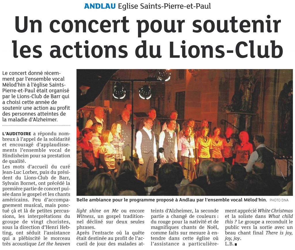 2011-12-21 Concert Andlau du 11-12 (Article DNA)